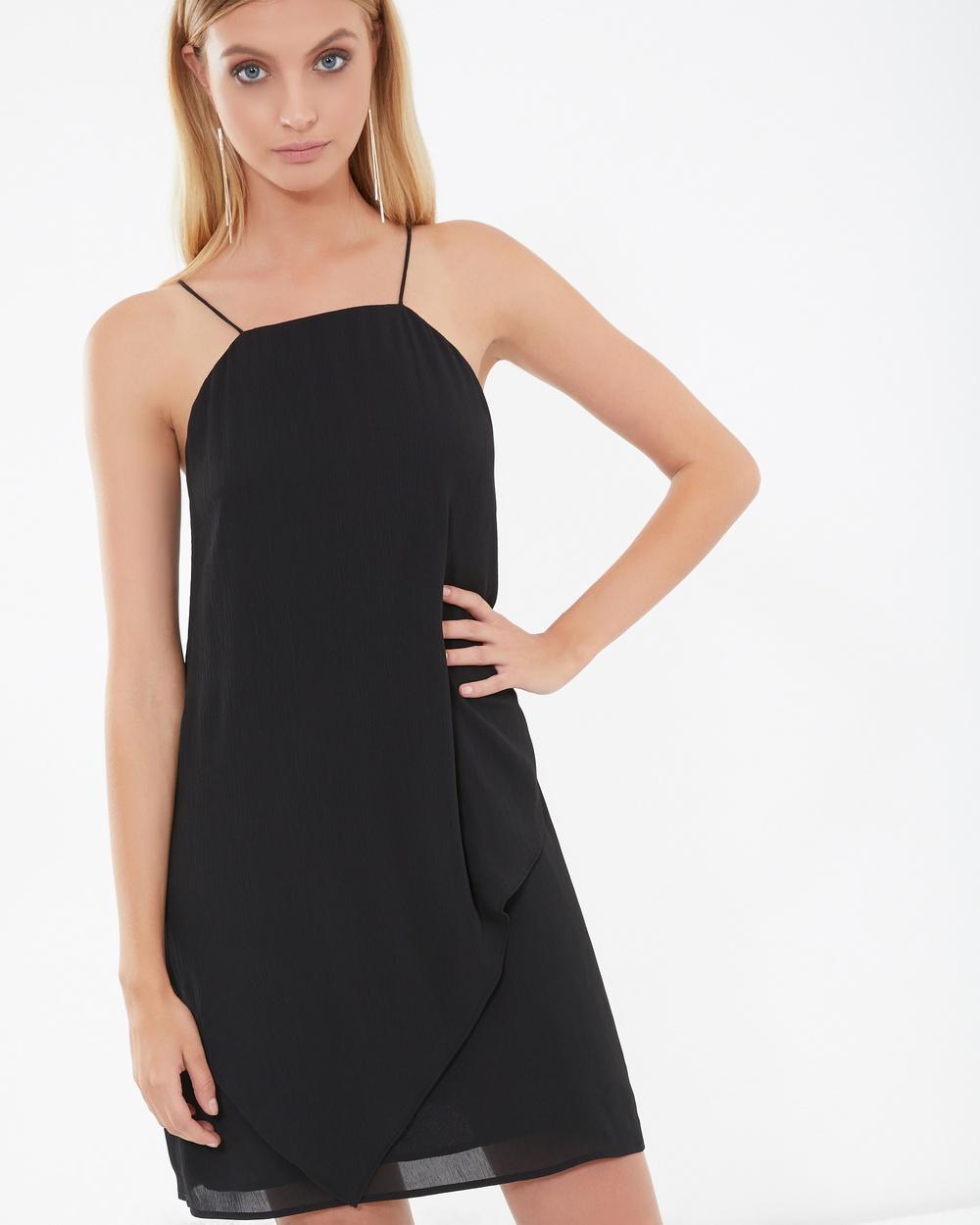 Tussah Stella Dress Dresses Black Stella Dress