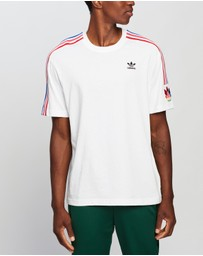 adidas Originals - Adicolor 3D Trefoil 3-Stripes Tee