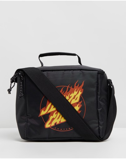 Santa Cruz - Flaming Strip Cooler Bag