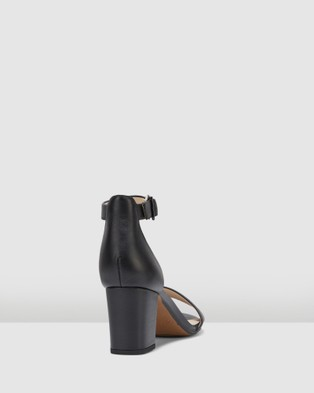 Clarks - Deva Mae Heels (Black Leather)