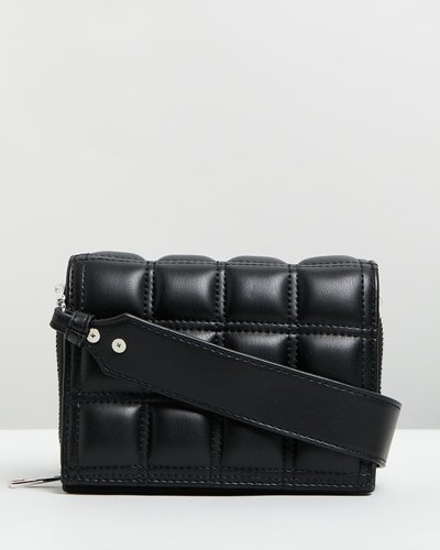 Webb Square Quilted Mini Cross-Body Bag