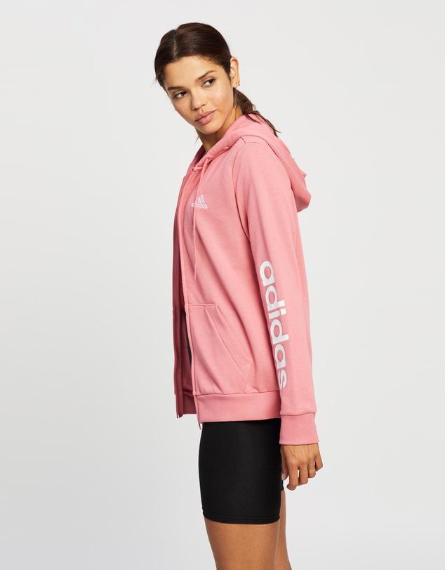 Women Essentials Logo Full-Zip Hoodie