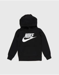 Nike - Club HBR  Pool Over Hooded Sweatshirt - Kids