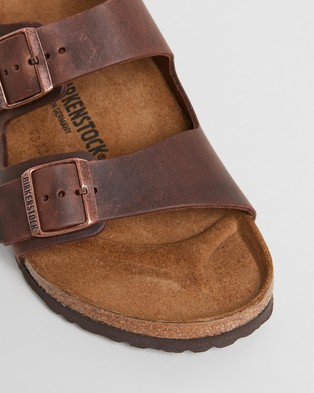 Birkenstock Milano   Men's - Casual Shoes (Habana Oiled Leather)
