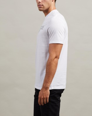 Armani Exchange T Shirt - T-Shirts & Singlets (White)