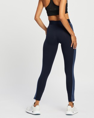 adidas Performance Loungewear Essentials 3 Stripes Leggings - Pants (Legend Ink & Crew Blue)