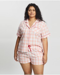 Atmos&Here Curvy - Short Cotton PJ Set