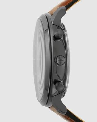 Fossil Neutra Brown Hybrid Smartwatch  - Smart Watches (Brown)