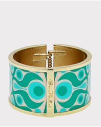 Florence Broadhurst - Solar Enamel Bangle in Gift Box