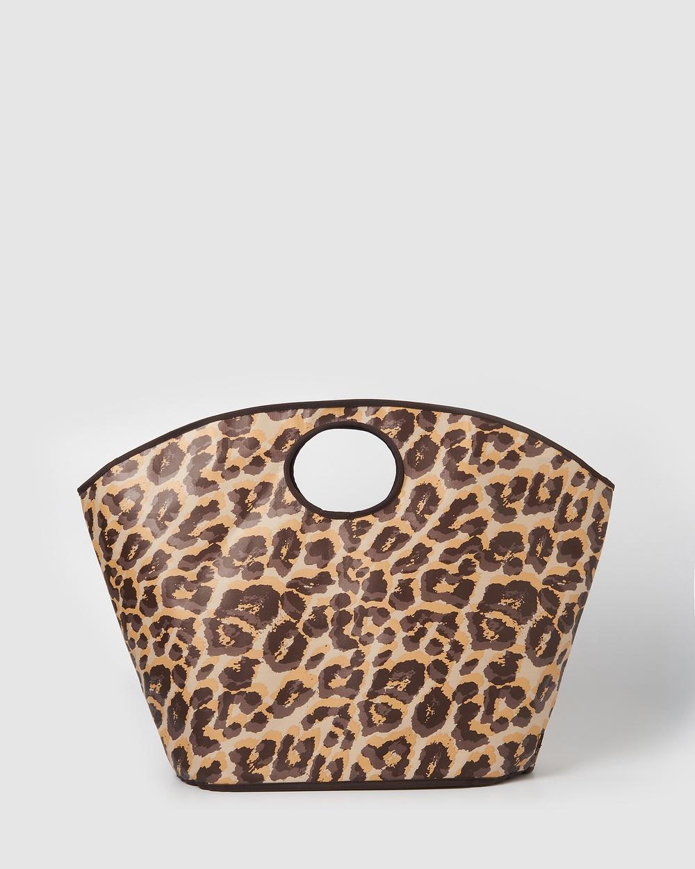 Urban Originals Carry All Bag Bags Leopard