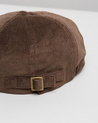 Fallen Broken Street The Bandit - Hats (Brown Corduroy)
