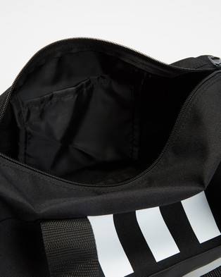 adidas Performance 3 Stripes Duffle Bag   Extra Small - Outdoors (Black & White)