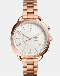 Hybrid Smartwatch Q Accomplice Rose Gold-Tone