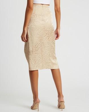BWLDR Margot Skirt - Skirts (Beige Leopard)