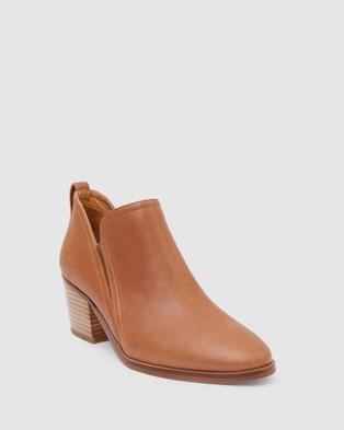 Jane Debster Denzel - Mid-low heels (TAN)