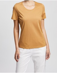 David Lawrence - Siren Scoop Neck Tee