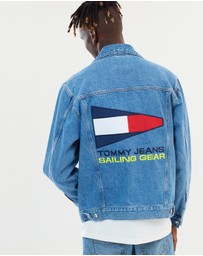 Tommy Jeans - 90s Logo Denim Jacket