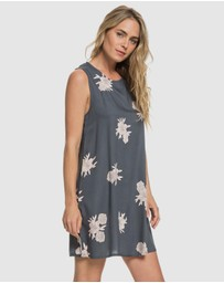 Roxy - Womens Harlem Vibes Printed Swing Tank Dress