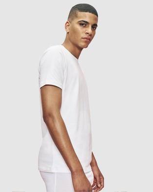 Organic Basics Silvertech Everyday Tee - T-Shirts & Singlets (White)