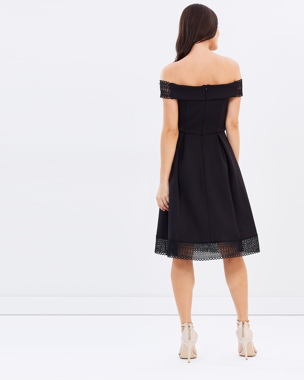 Dotty p black dress cocktail