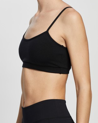 AVE Activewoman Everyday Sports Bra 2.0 - Crop Tops (Black)