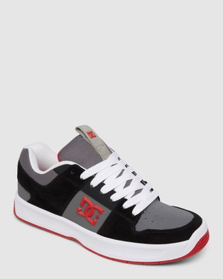 DC Shoes Mens Lynx Zero  Shoe - Sneakers (Black/Grey/Red)