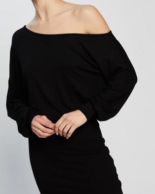 Atmos&Here Rhona Mini Dress - Bodycon Dresses (Black)