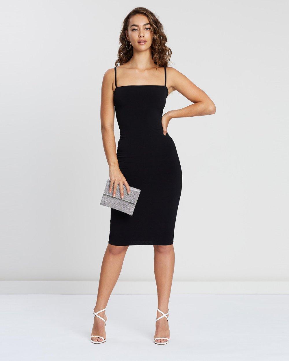 8b0bafeb Charlize Strap Midi Dress by Nookie Online | THE ICONIC | Australia