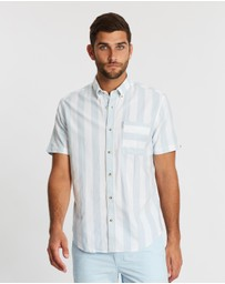 Ben Sherman - Short Sleeve Candy Stripe Shirt