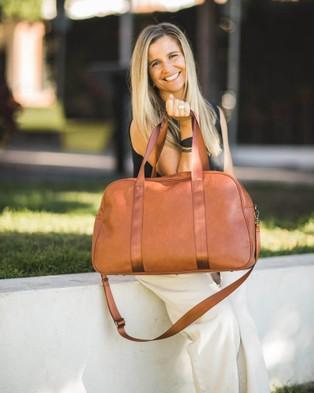 Louenhide Brighton Weekender Bag - Bags (Tan)