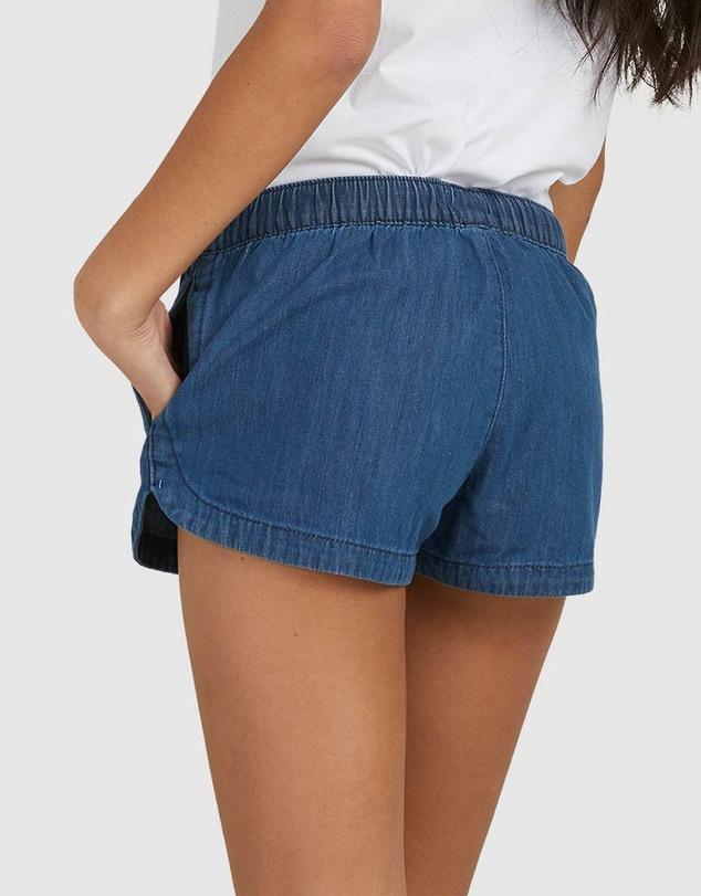 Women Womens New Impossible Lightweight Denim Shorts