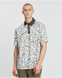 Band of Outsiders - Oversized Riso Flower SS Polo