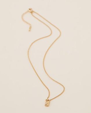 Carly Paiker Relic Pendant - Jewellery (Gold)