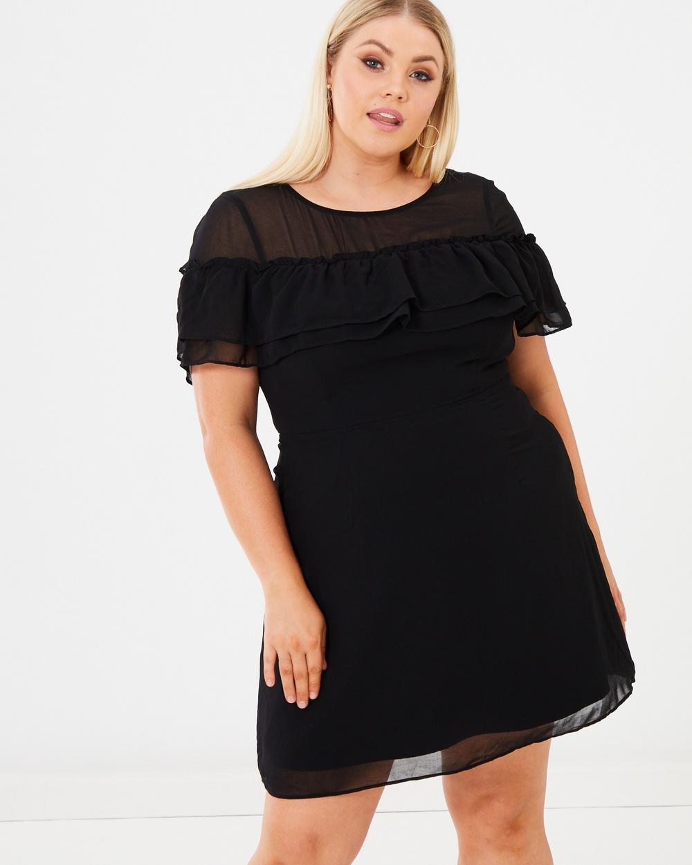 Calli Curve Black Alka Dress