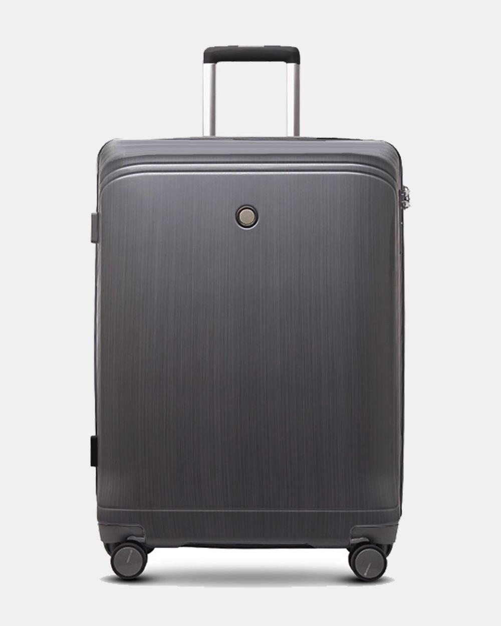 Echolac Japan Singapore Large Hard Side Case Travel and Luggage BLACK