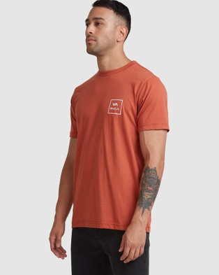 RVCA - Va All The Ways Ss Tee - T-Shirts & Singlets (TERRACOTTA) Va All The Ways Ss Tee