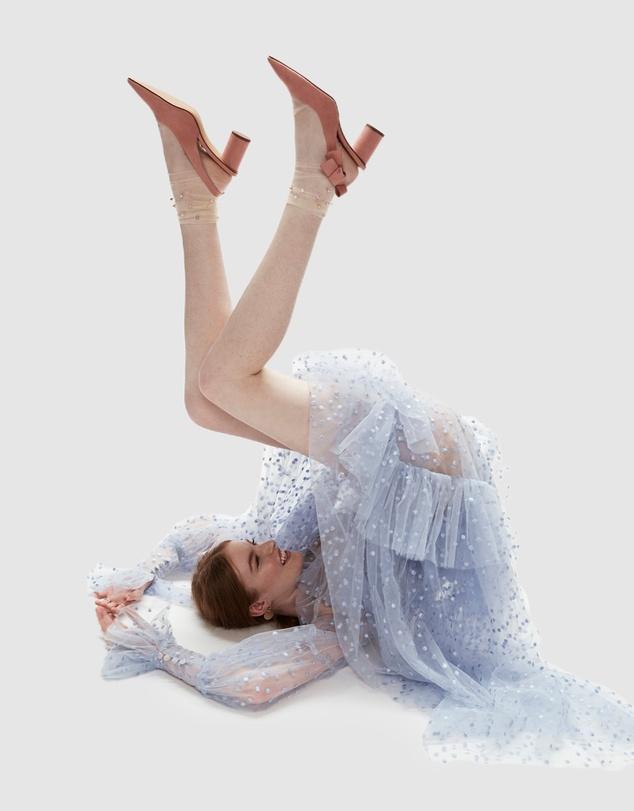 Women Pastel Pearl Sock
