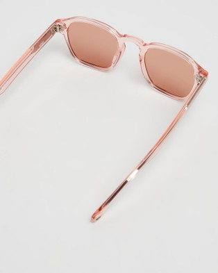 Pacifico Optical Lucius - Sunglasses (Capri Pink & Tan Lens)