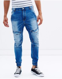 Nena & Pasadena - Flight Engineered Jogger Jeans