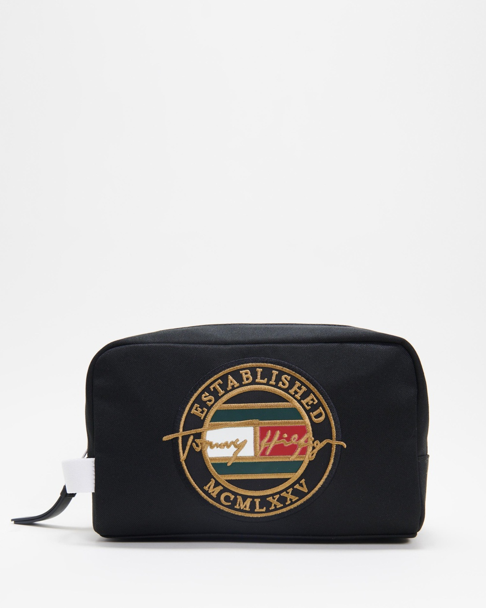 Tommy Hilfiger Signature Washbag Toiletry Bags Black