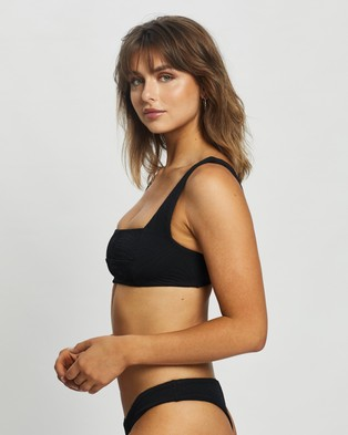 Fella Swim Franco Bikini Top - Bikini Tops (Black)
