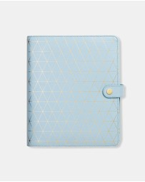 kikki.K - Leather Wellness Planner Large