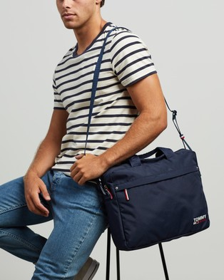Tommy Jeans TJM Campus Boy Computer Bag - Bags (Twilight Navy)