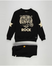 Rock Your Kid - Mic Drop Tracksuit Set - Kids