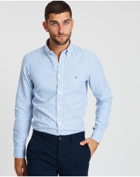 Tommy Hilfiger - Slim Textured Stripe Shirt