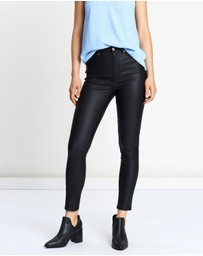 Atmos&Here - Valerie Coated Skinny Jeans
