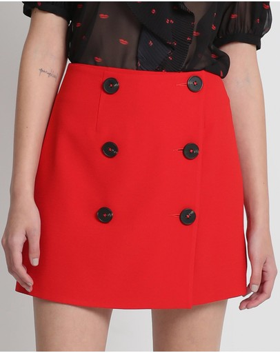 Vestire King Crimson Skirt Red