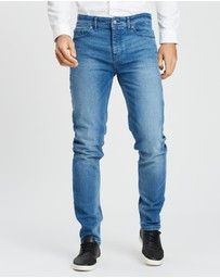 BOSS - Tapered-Fit Jeans