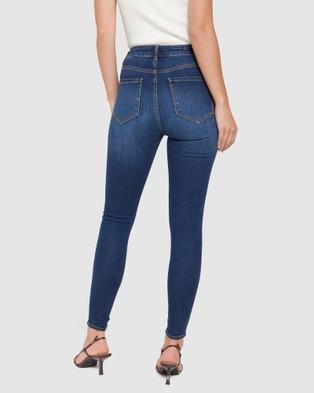 Forever New Bella High Rise Sculpting Jeans - Jeans (Havana Blue)