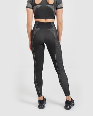 Core Trainer Lulu Tights - Sports Tights (Charcoal)